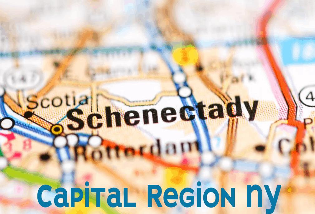 schenectady map